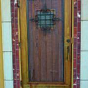 Spanish Door Art Print