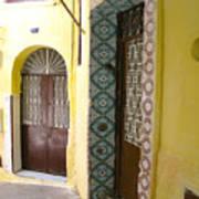 Spanish Doors Art Print