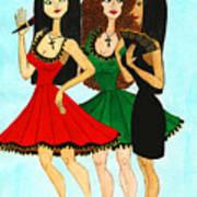 Spanish Girls Art Print