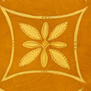 Spanish Gold Rectangle Art Print