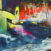 Spanish Harbour 01 Art Print