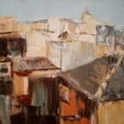 Spanish Rooftops Art Print