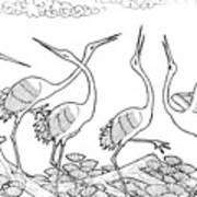 Spare Crane Art Print