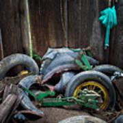 Spare Tires A-plenty Art Print
