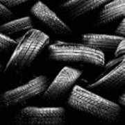 Spare Tires Art Print by Margherita Wohletz