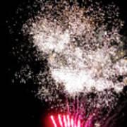 Sparkles Fireworks Art Print