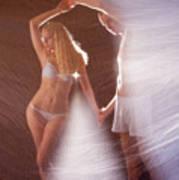 Sparkling Dance Art Print