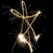 Sparkling Star II Art Print