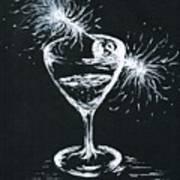 Sparkling Wine  Art Print