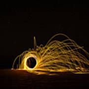 Sparks 2 Art Print