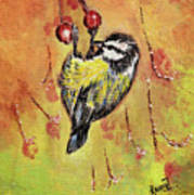 Sparrow - Bird Art Print