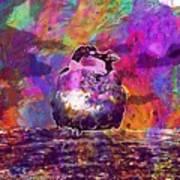 Sparrow Sperling Bird Close  Art Print