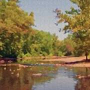Spavinaw Creek Art Print