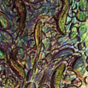 Spawning In Pastel Art Print