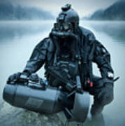 Special Operations Forces Combat Diver Art Print
