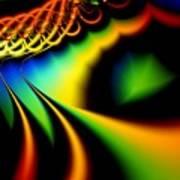 Spectrum Path Art Print