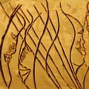 Speech Trails - Tile Art Print