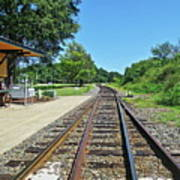 Spencer Railroad Station 2 Art Print