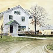 Sperry Homestead Art Print