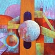 Spheres And Beams Art Print