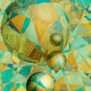 Spheres Of Life's Changes Art Print