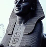 Sphinx In London Art Print