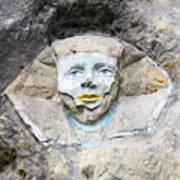 Sphinx - Rock Sculpture Art Print