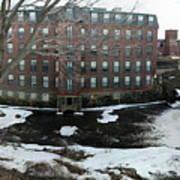 Spicket River Mill Condo Art Print