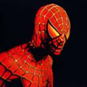 Spiderman Art Print by Paul Meijering