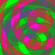 Spin 2 Art Print