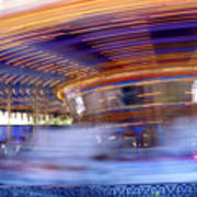 Spin Faster Art Print