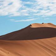 Spine Of The Desert Art Print