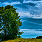 Sping Landscape In Nh 3 Art Print