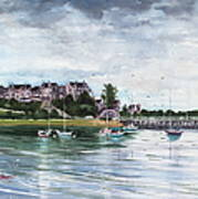 Spinnaker Island Art Print