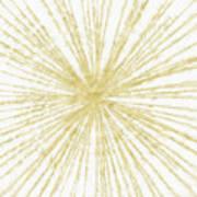 Spinning Gold- Art By Linda Woods Art Print