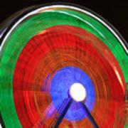 Spinning Wheels Art Print