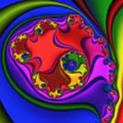 Spiral 218 Art Print