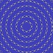 Spiral Circles Print by Michael Tompsett