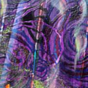Spiral Detail From Annunciation Art Print