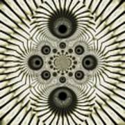 Spiral Eyes Art Print