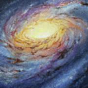 Spiral Galaxy 1 Art Print