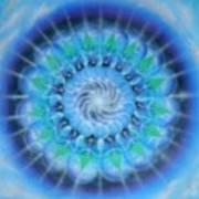 Spiral Gallaxies Art Print