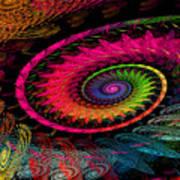 Spiral In  Spirals. Art Print