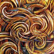 Spiral Journey Art Print