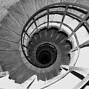 Spiral Staircase At The Arc Art Print
