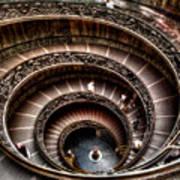 Spiral Staircase No1 Art Print