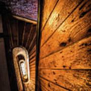 Spiral Stairwell Art Print