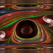 Spiral Warp Art Print