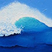 Spiral Wave Art Print