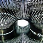 Spiral Wire Bridge Art Print